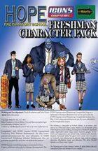 HPS Freshman Character Pack (ICONS)