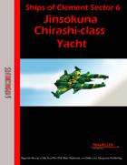 Ships of Clement Sector 6: Jinsokuna Chirashi-class Yacht