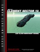 Ships of Clement Sector 10: Lee-class Merchant Vessel