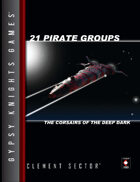 21 Pirate Groups