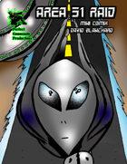 Area 51 Raid Mini Comix