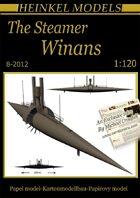 1/120 The Steamer Winans Paper Model