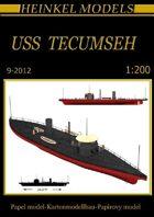 1/200 Uss Tecumseh Paper Model
