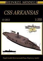 1/200 CSS Arkansas Paper Model