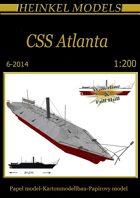 1/200 CSS Atlanta Paper Model