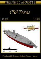 1/200 CSS Texas Paper Model