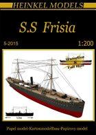 1/200 SS Frisia paper model