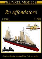 1/200 RN Affondatore Paper Model