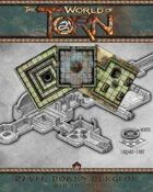 Raven Downs Dungeon Map Tile Set: A Torn World Gaming Accessory