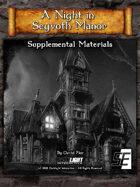 A Night in Seyvoth Manor, Supplemental Materials (DnD 5E)