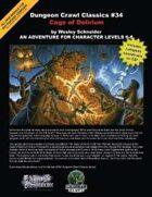 Dungeon Crawl Classics #34: Cage of Delirium