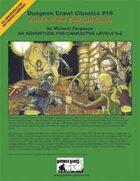 Dungeon Crawl Classics #16: Curse of the Emerald Cobra