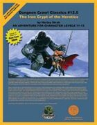 Dungeon Crawl Classics #12.5: The Iron Crypt of the Heretic (1E)