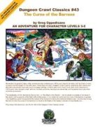 Dungeon Crawl Classics #43: Curse of the Barrens