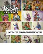 VTT Character Token Pack: DCC 0-Level Funnel Character Token Pack