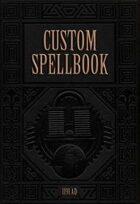 Custom Spellbook