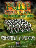 Pulp Miniatures - World of Men - Vangard Platoon
