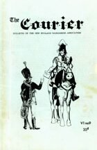 The Courier: Bulletin of the New England Wargamers Association V1 #9 1969