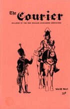 The Courier: Bulletin of the New England Wargamers Association V2 #1 1970