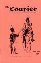 The Courier: Bulletin of the New England Wargamers Association V2 #2 1970