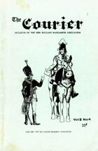 The Courier: Bulletin of the New England Wargamers Association V2 #4 1970