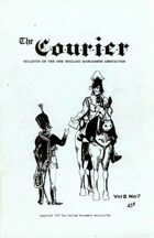 The Courier: Bulletin of the New England Wargamers Association V2 #7 1970
