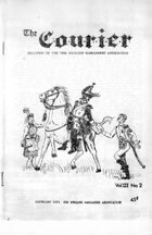 The Courier: Bulletin of the New England Wargamers Association V3 #2 1971