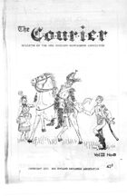 The Courier: Bulletin of the New England Wargamers Association V3 #8 1971