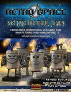 Retro Space Set Five: The Metal Legion