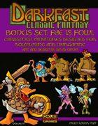 Darkfast Classic Fantasy Bonus Set One: Fae is Fowl