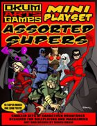Mini Playset - Assorted Supers