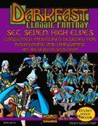 Darkfast Classic Fantasy Set Seven: High Elves