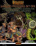Darkfast Dungeons: Dungeon Monsters Set One
