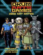 Okumarts Art Rates Guide 2018