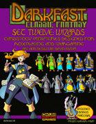Darkfast Classic Fantasy Set Twelve: Wizards