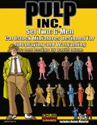 Pulp Inc. Set Two: G-Men