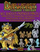 Darkfast Classic Fantasy Set Sixteen: Monster Party One
