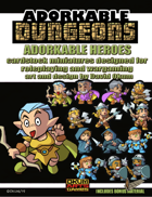 Adorkable Dungeons: Heroes Set One