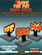 Save The Day: Sound Effects