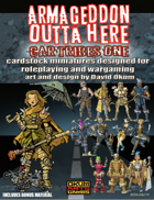 Armageddon Outta Here Set Three: Car Tribes One