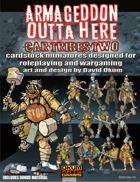 Armageddon Outta Here Set Four: Car Tribes Two