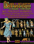 Darkfast Classic Fantasy Set Nineteen: Peasants