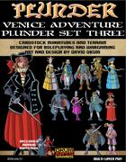 Plunder: Venice Adventures Paper Miniature Plunder Set Three