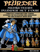 Plunder: Musketeers Paper Miniature Plunder Set Four