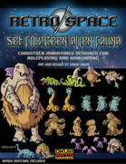 Retro Space Set Fourteen: Alien Fauna