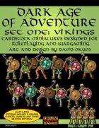 Dark Age Of Adventure Set One: Vikings