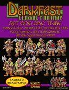 Darkfast Classic Fantasy Set One: Orc Tribe