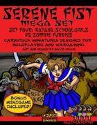 Serene Fist Set Four: Katana Schoolgirls vs Zombie Furries