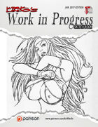 Kirk Lindo's Work In Progress Sketch Books 01 - 04 [BUNDLE]