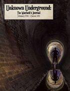 Unknown Underground: Warlock's Journal Contest #25
